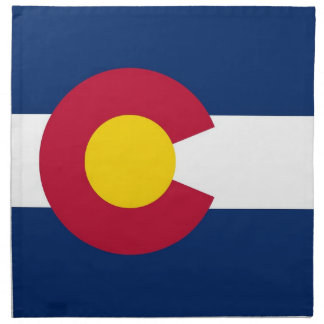 MoJo för Colorado statlig flaggaamerikan servett