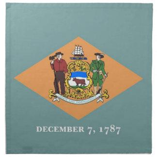MoJo för Delaware statlig flaggaamerikan servett