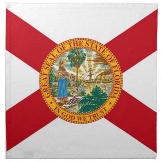 MoJo för Florida statlig flaggaamerikan servett
