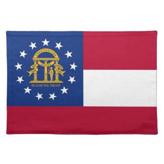 MoJo för Georgia flaggaamerikan bordstablett