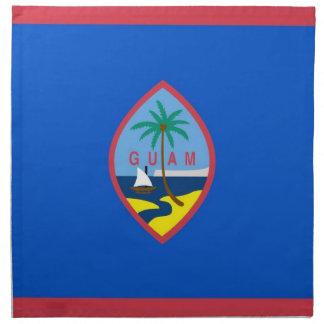 MoJo för Guam flaggaamerikan servett