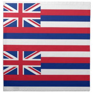 MoJo för Hawaii statlig flaggaamerikan servett
