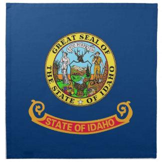 MoJo för Idaho statlig flaggaamerikan servett