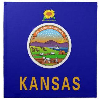 MoJo för Kansas statlig flaggaamerikan servett