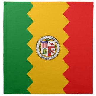 MoJo för Los Angeles flaggaamerikan servett