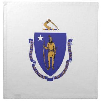MoJo för Massachusetts statlig flaggaamerikan Tygservett