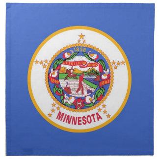 MoJo för Minnesota statlig flaggaamerikan servett