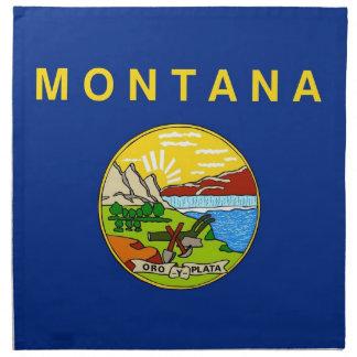 MoJo för Montana statlig flaggaamerikan servett