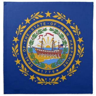MoJo för New Hampshire statlig flaggaamerikan serv