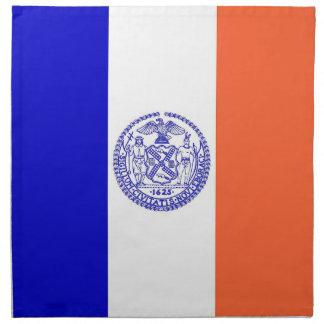 MoJo för New York City flaggaamerikan servett