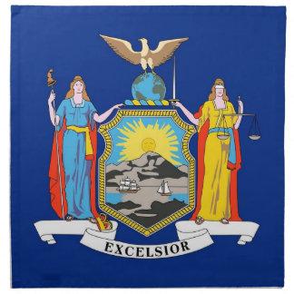MoJo för New York statlig flaggaamerikan servett