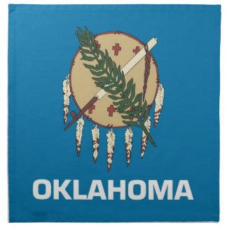 MoJo för Oklahoma statlig flaggaamerikan servett