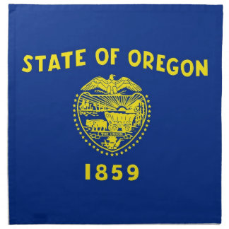 MoJo för Oregon statlig flaggaamerikan servett