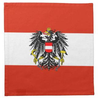 MoJo för Österrike flaggaamerikan servett