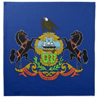 MoJo för Pennsylvania statlig flaggaamerikan serve Näsdukar