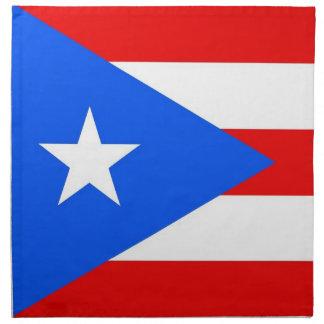 MoJo för Puerto Rico statlig flaggaamerikan servet