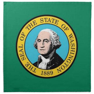 MoJo för stat Washingtonflaggaamerikan servett