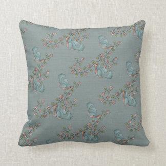 MoJo för vintageengelskaträdgård dekorativ kudde