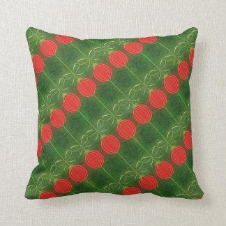 MoJo för vintagejulprydnadar dekorativ kudde