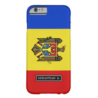 Moldavien flagga barely there iPhone 6 skal