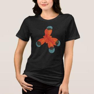 Molekyl för metangas för kemiGeek orange T-shirts