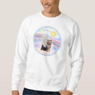 Moln - ängel för Yorkshire Terrier (att stå) Lång Ärmad Tröja