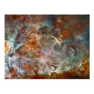 Moln för Carina Nebulamörk Vykort