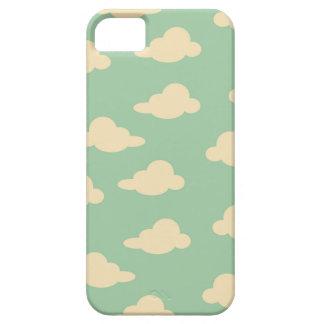 Moln i himmlen Hav-skummar och modernt elfenben iPhone 5 Cases