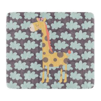 Moln och giraff