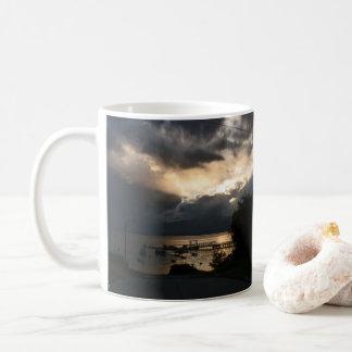 Molnig Patagonian solnedgång Kaffemugg
