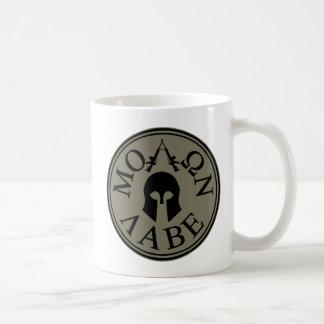 Molon Labe, kom och tar dem Kaffemugg