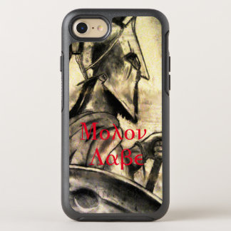 Molon Labe spartansk krigare OtterBox Symmetry iPhone 7 Skal