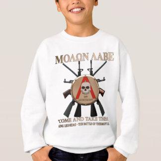 Molon spartanska Labe - skydda Tshirts