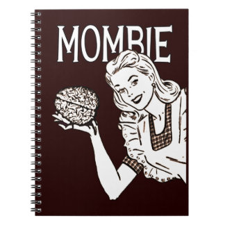 Mombie Retro Zombiemamma Anteckningsbok