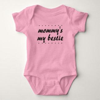 Mommys för flickamordotter min Bestie BFF T-shirt