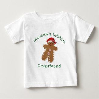 Mommys lite pepparkaka med en bow. tee shirts