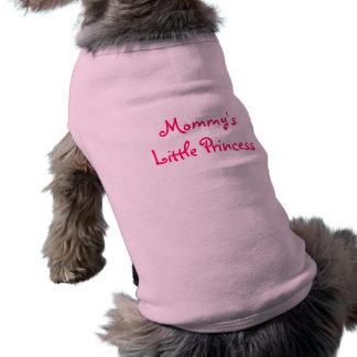 Mommys lite Princess-Hund skjorta Husdjurströja