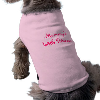 Mommys lite Princess-Hund skjorta Långärmad Hundtöja