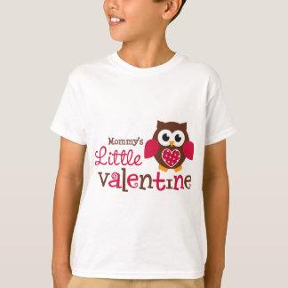 Mommys lite valentinuggla t-shirt