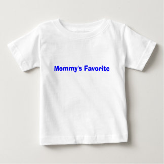 Mommy'sens favorit beklär t-shirt