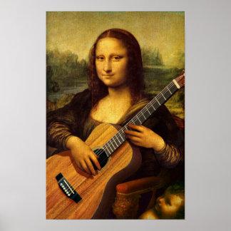 Mona gitarr poster