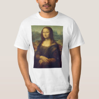 Mona Lisa av Leonardo Da Vinci T Shirt