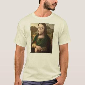 Mona Lisa drake Tee Shirt