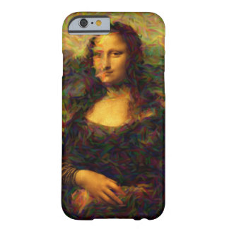 mona lisa paris barely there iPhone 6 skal
