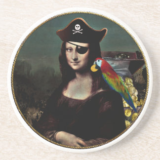 Mona Lisa piratkapten Underlägg