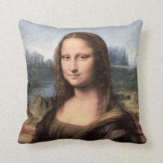 Mona Lisa porträtt/målning Kudde