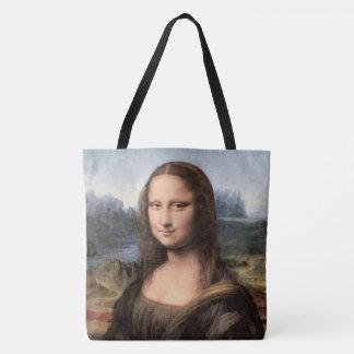 Mona Lisa porträtt/målning Tygkasse