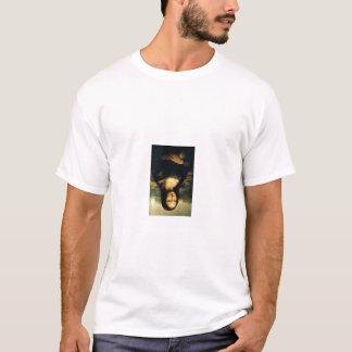 Mona Lisa uppochnervänd T skjorta T-shirts