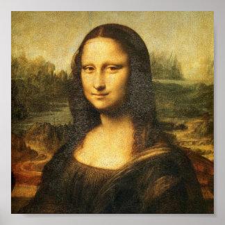 Mona Lisa vid DaVinci Poster