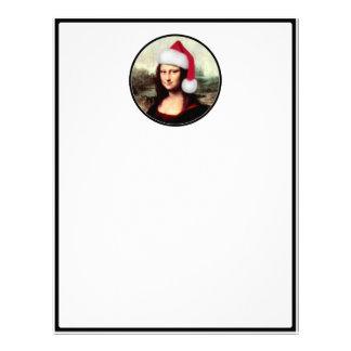 Mona Lisas julSanta hatt Brevhuvud